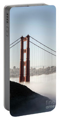 Portable Battery Charger featuring the photograph Golden Gate And Marin Highlands by David Bearden