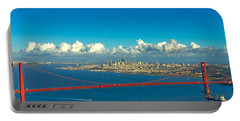Golden Gate And The City Portable Battery Charger