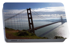 Portable Battery Charger featuring the photograph Golden Gate Bridge-2 by Steven Spak