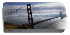 Golden Gate Bridge-2 Portable Battery Charger by Steven Spak