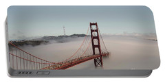 Golden Gate Bridge Portable Battery Charger by David Bearden
