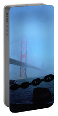 Golden Gate Bridge From Fort Point Portable Battery Charger