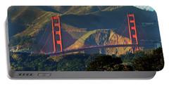 Golden Gate Bridge Portable Battery Charger by Steven Spak