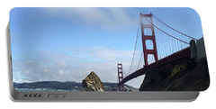 Golden Gate Bridge Portable Battery Charger by Sumoflam Photography