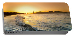 Golden Gate Curl Portable Battery Charger