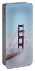 Portable Battery Charger featuring the photograph Golden Gate Fogged - 3 by David Bearden