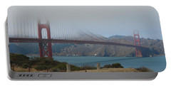 Golden Gate In The Clouds Portable Battery Charger