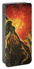 Golden Goddess Portable Battery Charger
