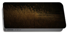 Portable Battery Charger featuring the photograph Golden Grass by Ryan Photography
