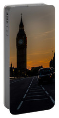 Golden Hour Big Ben In London Portable Battery Charger