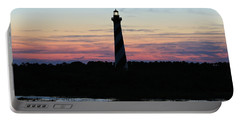 Golden Hour, Cape Hatteras Light Portable Battery Charger