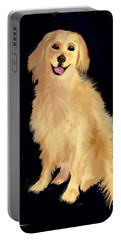 Golden Lab Portable Battery Charger