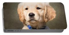 Golden Labrador Puppy Portable Battery Charger