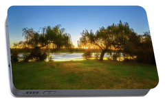 Portable Battery Charger featuring the photograph Golden Lake, Yanchep National Park by Dave Catley