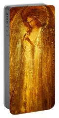 Golden Light Of Angel Portable Battery Charger
