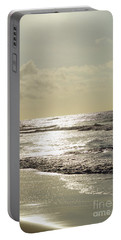 Golden Morning At Folly Portable Battery Charger by Jennifer White