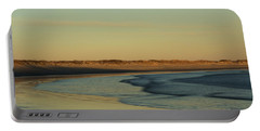 Golden Morning On Rhode Island Coast Portable Battery Charger