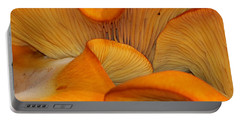Golden Mushroom Abstract Portable Battery Charger