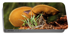 Golden Mushrooms 001 Portable Battery Charger
