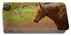 Golden Mustang Stallion Portable Battery Charger
