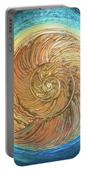 Golden Nautilus Portable Battery Charger