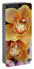 Golden Orchid Portable Battery Charger