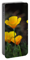 Golden Poppies  Portable Battery Charger