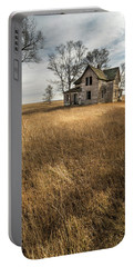 Golden Prairie  Portable Battery Charger by Aaron J Groen