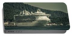 Portable Battery Charger featuring the photograph Golden Princess  by Timothy Latta