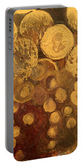 Golden Rain Abstract Portable Battery Charger