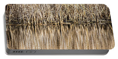 Golden Reed Reflection Portable Battery Charger