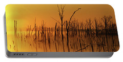Golden Reflections Portable Battery Charger by Roger Becker