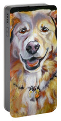 Golden Retriever Most Huggable Portable Battery Charger