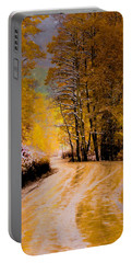 Golden Road Portable Battery Charger by Kristal Kraft