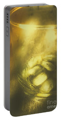 Golden Saloon Afternoon Portable Battery Charger