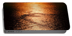 Golden Sea In Alanya Portable Battery Charger