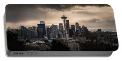 Golden Seattle Portable Battery Charger by Chris McKenna