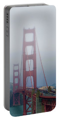 Portable Battery Charger featuring the photograph Golden State Golden Gate  by Joseph Hollingsworth