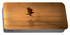 Golden Sunrise And Eagle  2016-3 Portable Battery Charger