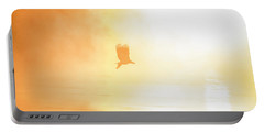 Golden Sunrise And Eagle  2016 Portable Battery Charger