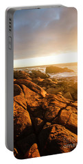Golden Tasmania Coastline Portable Battery Charger