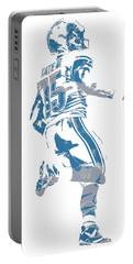 Golden Tate Detroit Lions Pixel Art 1 Portable Battery Charger