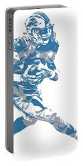 Golden Tate Detroit Lions Pixel Art 2 Portable Battery Charger