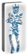 Golden Tate Detroit Lions Pixel Art 4 Portable Battery Charger