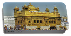 Golden Temple Punjab India With Clear Sky 2 Portable Battery Charger