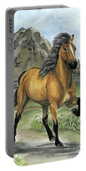 Golden Tolt Icelandic Horse Portable Battery Charger