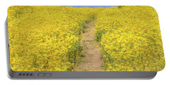 Portable Battery Charger featuring the photograph Golden Trail by Marc Crumpler
