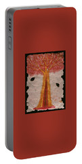 Golden Trees Crying Tears Of Blood Portable Battery Charger by Talisa Hartley