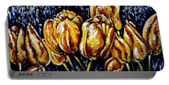 Golden Tulips Portable Battery Charger by Harsh Malik