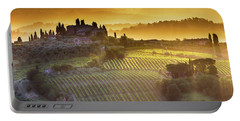 Golden Tuscany Portable Battery Charger